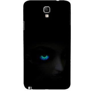 ifasho Girl with shining eyes Back Case Cover for Samsung Galaxy Note3 Neo