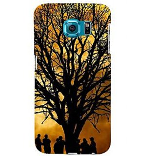 ifasho 3Dee Painting with people  Back Case Cover for Samsung Galaxy S6 Edge Plus
