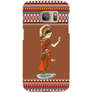ifasho Odishi dance Back Case Cover for Samsung Galaxy S7 Edge
