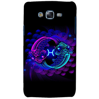 ifasho zodiac sign pisces Back Case Cover for Samsung Galaxy J7 (2016)
