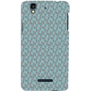 ifasho Modern Art Design Pattern with Lot Of small anchor Back Case Cover for YU Yurekha