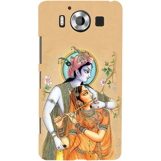 ifasho radha Krishna Back Case Cover for Nokia Lumia 950