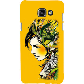 ifasho Jungle girl Back Case Cover for Samsung Galaxy A5 A510 (2016 Edition)