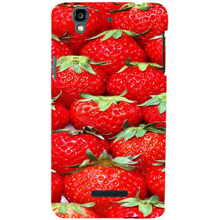 ifasho Modern  Design Pattern S3Dwberry wall paper Back Case Cover for YU Yurekha