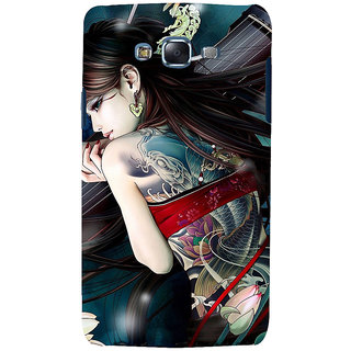 ifasho tatoo girl Back Case Cover for Samsung Galaxy J5