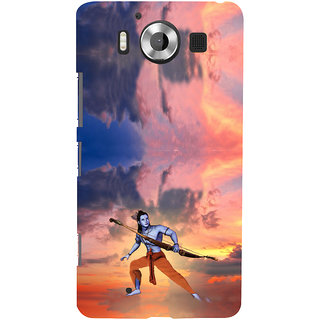 ifasho Lord Rama Back Case Cover for Nokia Lumia 950