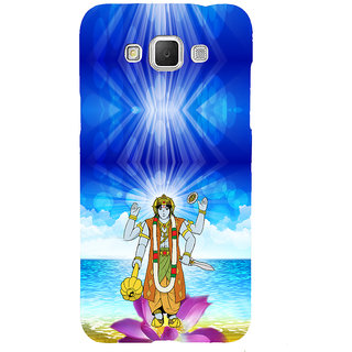 ifasho Lord Vishnu Back Case Cover for Samsung Galaxy Grand Max