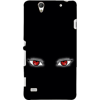 ifasho Cartoon Eyes Back Case Cover for Sony Xperia C4