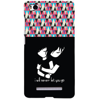 ifasho Love Quotes for love Back Case Cover for Redmi Mi4i
