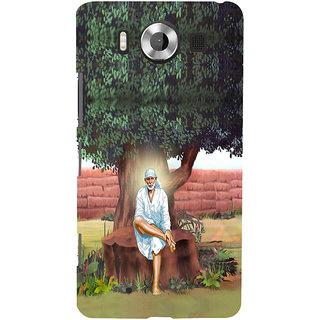 ifasho Shirdi wale Sai Baba Back Case Cover for Nokia Lumia 950