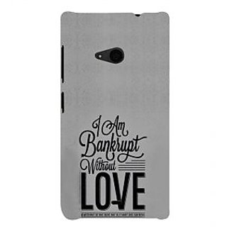 ifasho Love Quotes Back Case Cover for Nokia Lumia 535