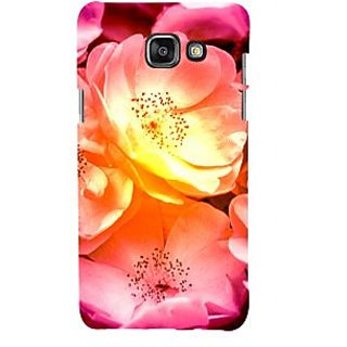 ifasho Flowers Back Case Cover for Samsung Galaxy A5 A510 (2016 Edition)