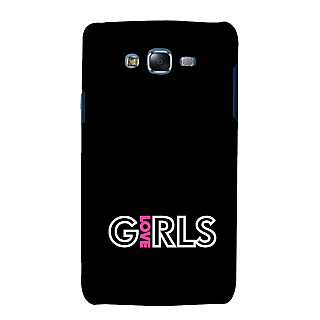 ifasho Love Girl quote Back Case Cover for Samsung Galaxy J5