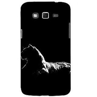 ifasho Leopard resting Back Case Cover for Samsung Galaxy Grand
