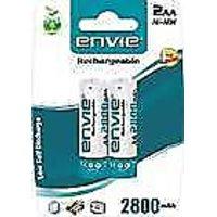 ENVIE 2800mAh Ni-MH Rechargeable AA Battery