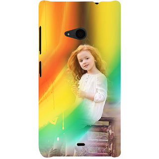 ifasho Girl playing Back Case Cover for Nokia Lumia 535