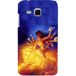 ifasho Godess Durga Back Case Cover for Samsung Galaxy J3