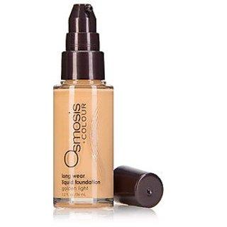Osmosis Long Wear Liquid Foundation, Golden Light, 36 Gram