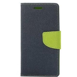 Mercury Wallet Flip case Cover For Moto G 3  (BLUE)