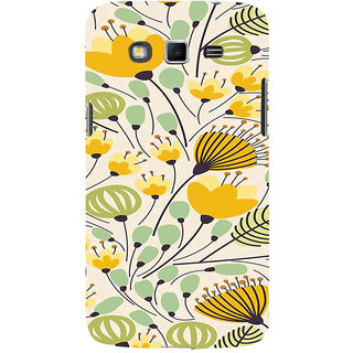 ifasho Animated Pattern colrful flower with leaves Back Case Cover for Samsung Galaxy Grand