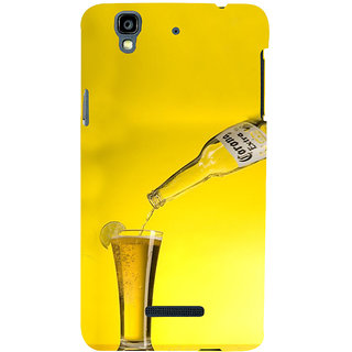 ifasho Beer Back Case Cover for YU Yurekha