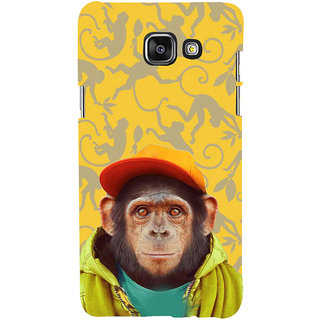ifasho Monkey with red cap Back Case Cover for Samsung Galaxy A5 A510 (2016 Edition)