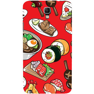 ifasho Animated food pattern Back Case Cover for Samsung Galaxy Note3 Neo