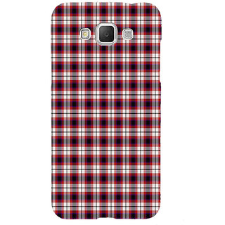 ifasho Colour Full Squre Pattern Back Case Cover for Samsung Galaxy Grand3