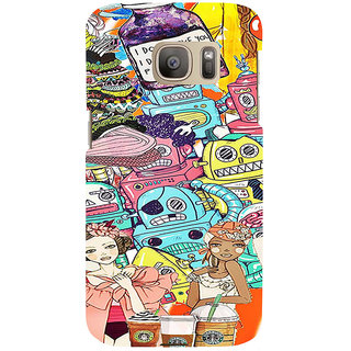 ifasho Gang Of Girls Back Case Cover for Samsung Galaxy S7 Edge