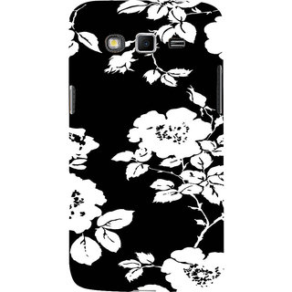 ifasho Animated Pattern rose flower with leaves Back Case Cover for Samsung Galaxy Grand