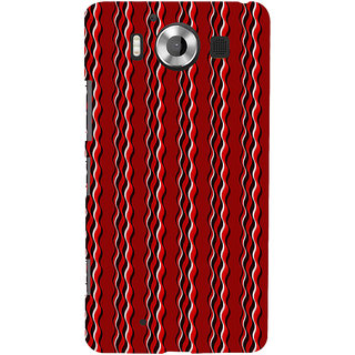 ifasho Design lines pattern Back Case Cover for Nokia Lumia 950