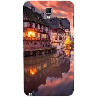 ifasho Venice City Back Case Cover for Samsung Galaxy Note3 Neo