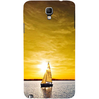 ifasho Boating at sunset Back Case Cover for Samsung Galaxy Note3 Neo
