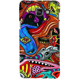ifasho Modern Art Om design pattern Back Case Cover for Samsung Galaxy A5 A510 (2016 Edition)