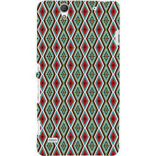 ifasho Animated Pattern colrful 3Daditional design Back Case Cover for Sony Xperia C4