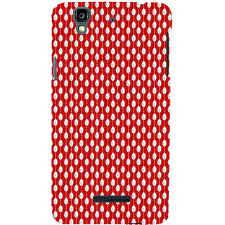 ifasho Animated Pattern design in pearl  Back Case Cover for YU Yurekha