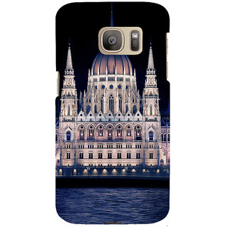 ifasho Victoria palace Back Case Cover for Samsung Galaxy S7 Edge