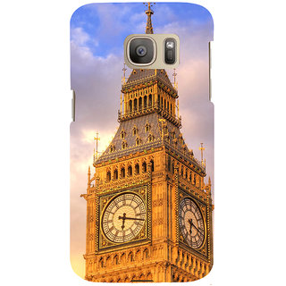 ifasho Historic Place Back Case Cover for Samsung Galaxy S7 Edge