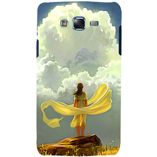 ifasho Girl waiting art work painting Back Case Cover for Samsung Galaxy J7 (2016)