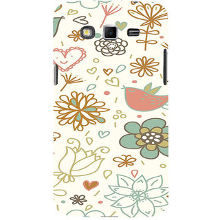ifasho Animated Pattern colrful design cartoon flower with leaves Back Case Cover for Samsung Galaxy Grand
