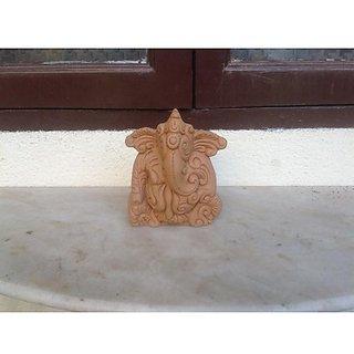 Ganesha Terracotta Large