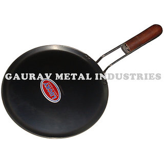Lucky Iron Dosa Tawa (Wire Wood Handle)