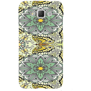 ifasho Animated Pattern colrful flower and butterfly Back Case Cover for Samsung Galaxy Grand3