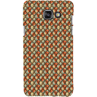 ifasho Animated Pattern With flower inside Circle  Back Case Cover for Samsung Galaxy A5 A510 (2016 Edition)