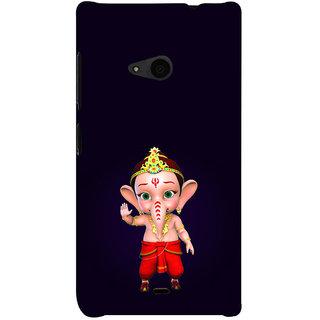 ifasho Modern Art Ganesh Back Case Cover for Nokia Lumia 535