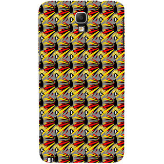 ifasho Animated Pattern peacock Back Case Cover for Samsung Galaxy Note3 Neo