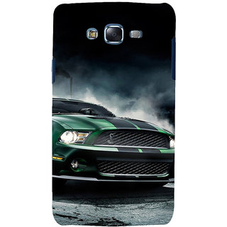ifasho Royal  Running Car in wind Back Case Cover for Samsung Galaxy J7 (2016)