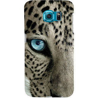 ifasho beautiful Tiger eyes Back Case Cover for Samsung Galaxy S6 Edge Plus