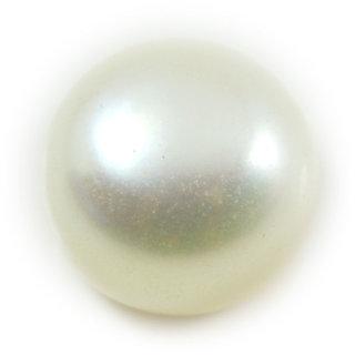 4.5 Ratti 4.13 Carat Natural Pearl Moti Round Shape Loose Gemstone For Astrological Purpose