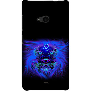 ifasho zodiac sign leo Back Case Cover for Nokia Lumia 535